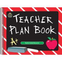Teacher Created Resources Spiral Teacher Plan Book - Landscape