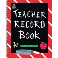 Teacher Created Resources Spiral Teacher Plan Book - Portrait