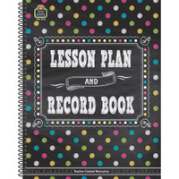 Teacher Created Resources Spiral Lesson Plan/Record Book