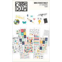Carpe Diem - Simple Stories - Faith Mini Stickers