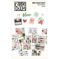 Carpe Diem - Simple Stories - Bloom Mini Stickers
