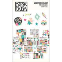 Carpe Diem - Simple Stories - Good Vibes Mini Stickers