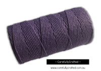 Baker's Twine 12 Ply - 100 Metre (110 Yards) Spool - Solid Purple #BT12-39