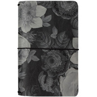 Carpe Diem Traveler's Notebook - Black Vintage Floral, Beautiful