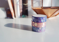Simply Gilded - Washi Tape - Watercolor Crystal Gems - Set of 3