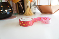 Simply Gilded - Washi Tape - Lightning bolt and magic gold foil washi tape