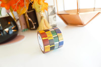 Simply Gilded - Washi Tape - Wizard House foiled washi tape- Set of 4