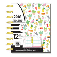 Create 365 - The Happy Planner - Me and My Big Ideas - 12 Months - CLASSIC Happy Planner - Shake It Up 2018