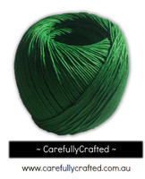 Waxed Hemp Cord - 100 Metre (110 Yards) Roll - Green #WHC6