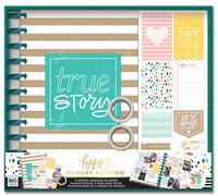 Create 365 - The Happy Planner - Me and My Big Ideas - Happy Memory Keeping™ BIG Box Kit - True Story / Kraft
