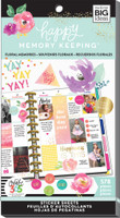 Me and My Big Ideas - The Happy Planner - Sticker Value Packs - BIG - Floral Memories