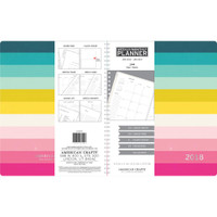 "American Crafts - 2018 Weekly/Monthly Planner 8.5"" x 11"""