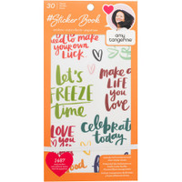American Crafts - Designer Sticker Book - Amy Tan