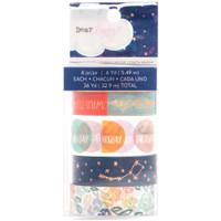 American Crafts - Dear Lizzy Star Gazer Washi Tape Set - Set of 6