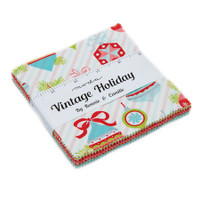 Moda Fabric Precuts Charm Pack - Vintage Holiday by Bonnie & Camille