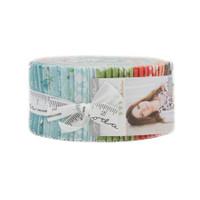Moda Fabric Precuts Jelly Roll - Nest by Lella Boutique