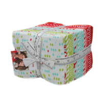 Moda Fabric Precuts - Flannel - Fat Quarter Bundle - Vintage Holiday by Bonnie & Camille