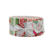 Moda Fabric Precuts Jelly Roll - Swell Christmas by Urban Chicks