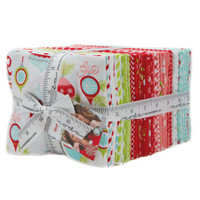 Moda Fabric Precuts - Fat Quarter Bundle - Vintage Holiday by Bonnie & Camille