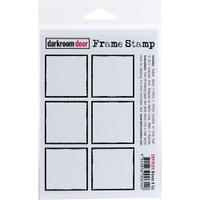 """Darkroom Door Cling Stamp 4.5"""" x  3"""" - Boxes 6 Up"""