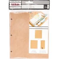 Vicki Boutin - Mixed Media Junque Journal Refills - Set of 12 - Kraft