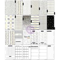 Prima Marketing - My Prima A5 Planner Inserts - Golden Plan