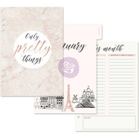 Prima Marketing - My Prima A5 Planner Inserts - Frank Garcia Mademoiselle Chic