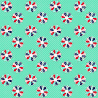 Fabric - A Little Sweetness - Tasha Noel Sweetness Dresden Mint# C6513R-MINT