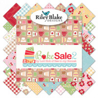 Riley Blake Fabrics - Bake Sale 2 - Lori Holt - 10 inch Stacker