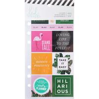 Heidi Swapp - Memory Planner Cardstock Stickers - Fresh Start, Tropical
