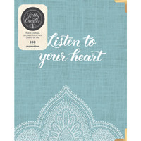 American Crafts - Kelly Creates - A5 D-Ring Journal - Peace