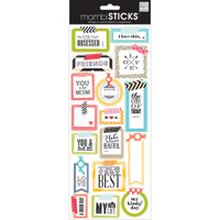 Me and My Big Ideas - The Happy Planner - Sayings Stickers - Washi Tape Shapes
