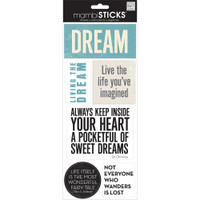 Me and My Big Ideas - The Happy Planner - Sayings Stickers - Dream