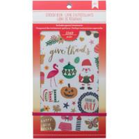 American Crafts - Planner Sticker Book - Seasonal