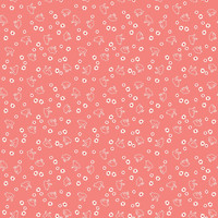 Riley Blake Fabric - Wide Backing - Bee Basics - Lori Holt - Chick Coral