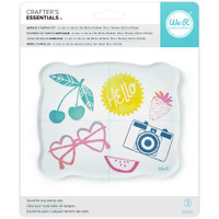 We R Memory Keepers - Acrylic Block Stamping Set