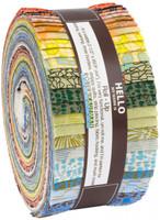 Robert Kaufman Fabric Precuts - Jelly Roll - Gleaned by Carolyn Friedlander