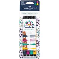 Faber Castell - Mix & Match PITT Artist Pens - Set of 4 - Mandala Art