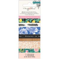 Crate Paper - Maggie Holmes Flourish Washi Tape - Set of 8