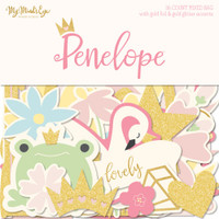 My Minds Eye - Penelope Mixed Bag Cardstock Die-Cuts