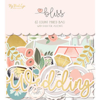 My Minds Eye - Bliss Mixed Bag Cardstock Die-Cuts