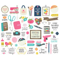 Carpe Diem - Simple Stories - Crafty Girl Bits & Pieces Die Cuts
