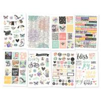 "Carpe Diem - Simple Stories - Bliss Stickers - 4"" x 6"""