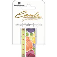 Paper House Washi Tape - Set of 2 - Pansies By Carol Shiber