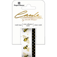 Paper House Washi Tape - Set of 2 - Bees By Carol Shiber