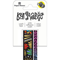 Paper House Washi Tape - Set of 2 - Hearts Pattern By Karmabee