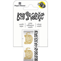 Paper House Washi Tape - Set of 2 - Elephants By Karmabee
