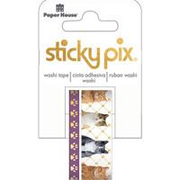 Paper House Sticky Pix Washi Tape - Set of 2 - Cats
