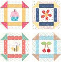 Lori Holt - Bee Happy Coaster - Set of 4