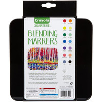 Crayola Signature Blending Markers with Tin